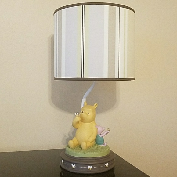 Disney other classic winnie the pooh lamp and shade poshmark classic winnie the pooh lamp and shade aloadofball Images
